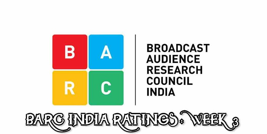 Weekly TRP BARC Ratings India