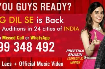 Sing Dil Se Season 6 (Youtube Channel – 500K Subscribers)